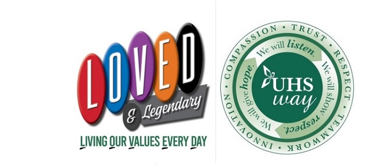 LOVED AND VALUES